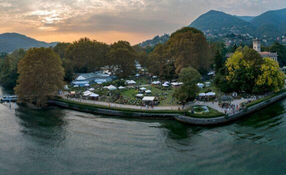 Il parco di Villa Erba durante l'evento di Orticolario ph_Luigi Fieni